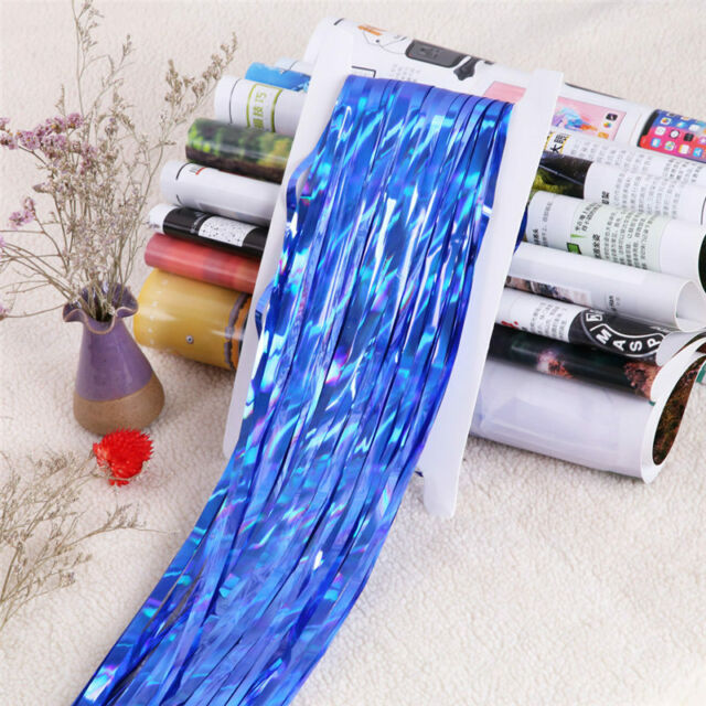 Foil Glitter Backdrop Tinsel Curtain Fringe Wedding Party Decoration CB