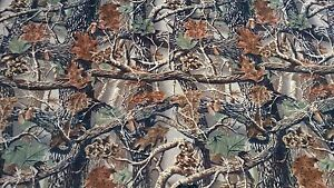 Mossy Oak Seclusion 3d Flock Velvet Sueded Camo Upholstery Fabric 46