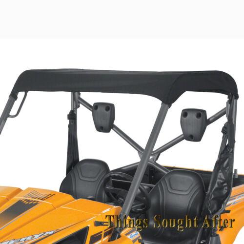 BLACK FABRIC ROOF TOP for 2010 2-PASSENGER KAWASAKI TERYX 750 FI /& LE Bimini