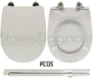 Toilet Seat SintesiBagno MADE for Esedra WC BULL series. SOFT CLOSE ...