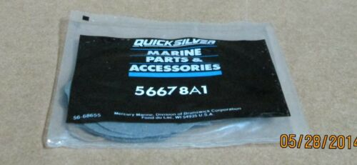 56678A 1 56678A Mercury QuickSilver Diaphragm Kit NEW