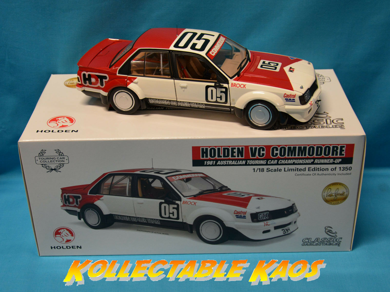 1 18 Classics - 1981 Touring Car Championship Runner-Up - Holden VC Comm. NEW