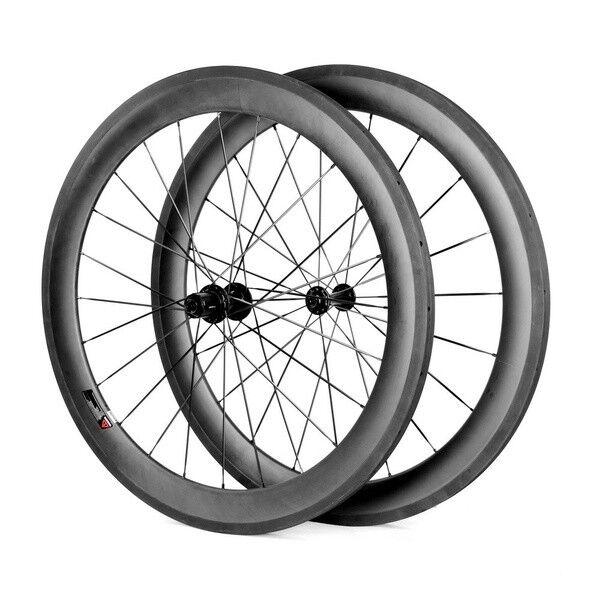 SHLBIKE  700C 60mm depth Wheelset Road Bike wheel Bicycle Carbon Wheels  best-selling