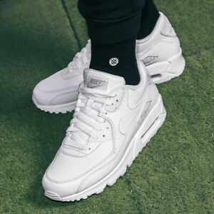 the latest 733c9 973b0 ... Nike-Air-Max-90-Leather-Chaussures-De-Sport-