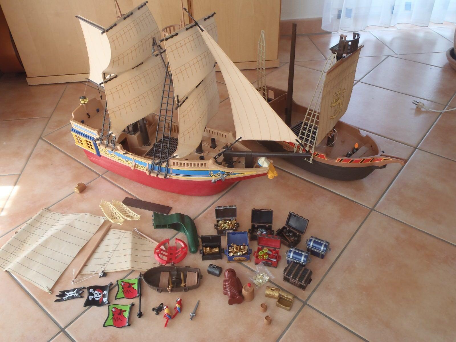 PLAYMOBIL la raccolta Pirati Navi, accessori ecc.   qualità di prima classe