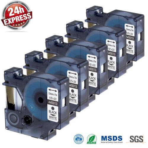 Kompatibel Dymo D1 LabelManager LabelPoint Etikettenbänder 9mm 12mm 4501 4091