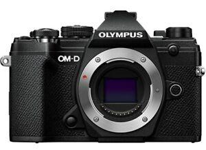 Olympus OM-D E-M5 Mark III Mirrorless Digital Camera Body - Black (USA Warranty)