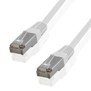 CAT5e DSL Patchkabel Netzwerkkabel Netzwerk LAN Kabel FTP geschirmt RJ45 Stecker
