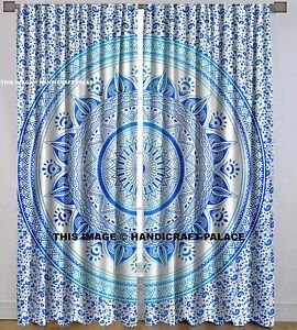Image Is Loading Indian Ombre Mandala Curtains Window Treatment Door Hanging