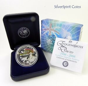 2006-ANTARCTIC-EDGEWORTH-DAVID-Silver-Proof-Coin