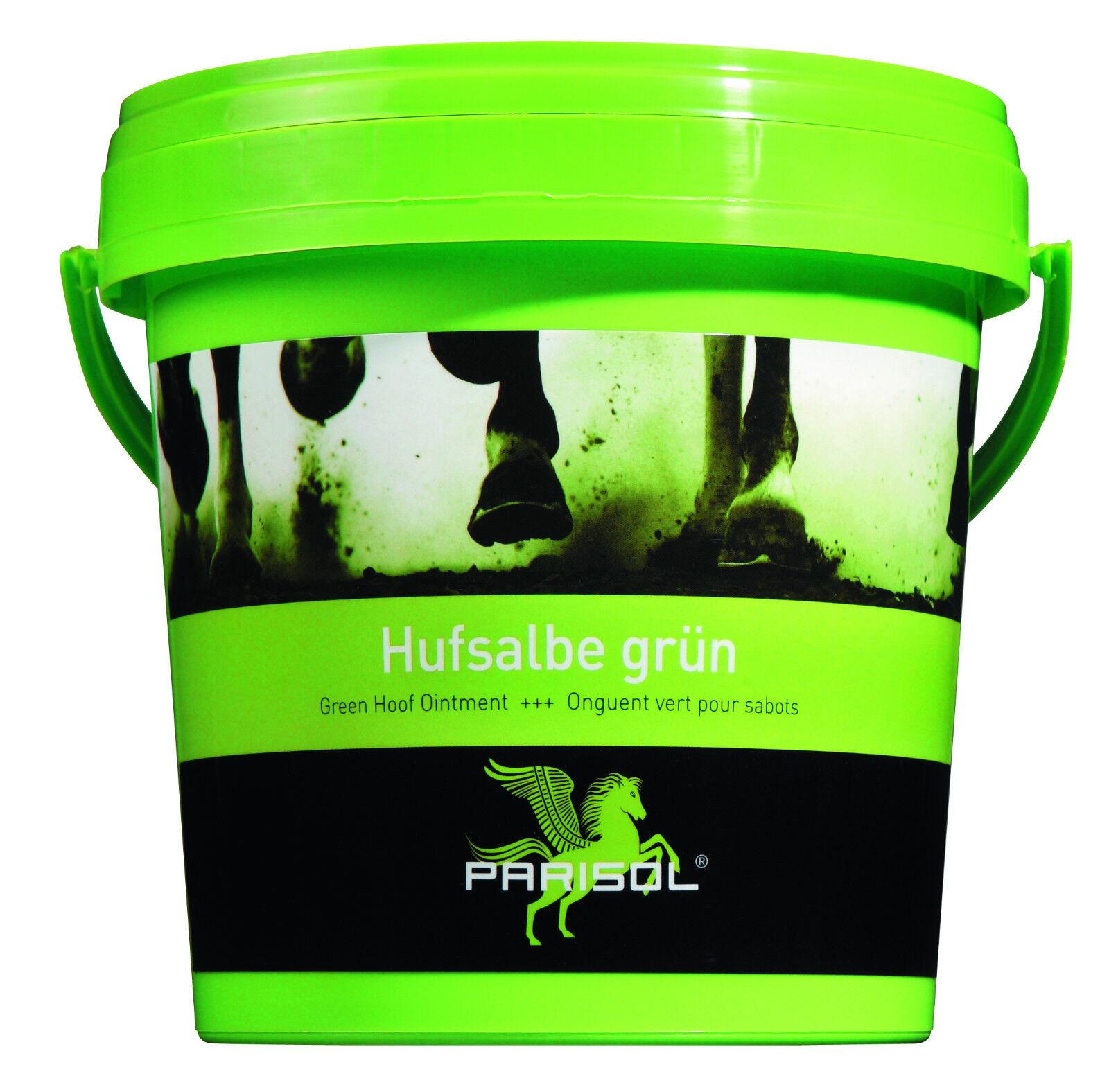Parisol Hufsalbe Huffett 25 Liter farblos-gelb, grün grün grün oder schwarz ( /1000ml) 98498a