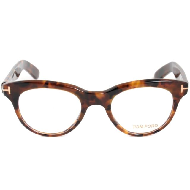 94380db31aeb Tom Ford Oval Eyeglasses Tf5378 052 Size 47mm Vintage Havana Ft5378 ...