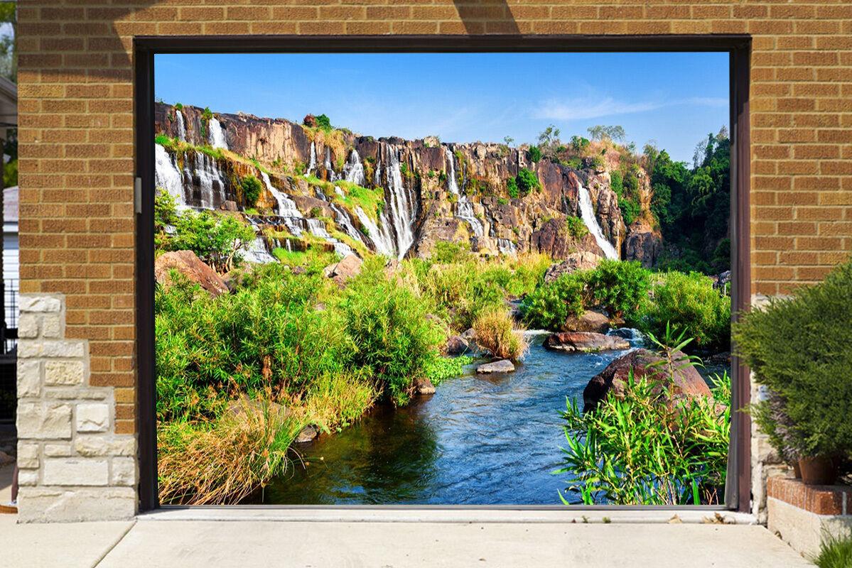 3D Stone Water 98 Garage Door Murals Wall Print Decal Wall AJ WALLPAPER AU Carly