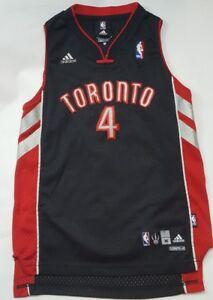 c5376952db3 Toronto Raptors Black Chris Bosh  4 NBA Adidas Jersey Youth Medium ...