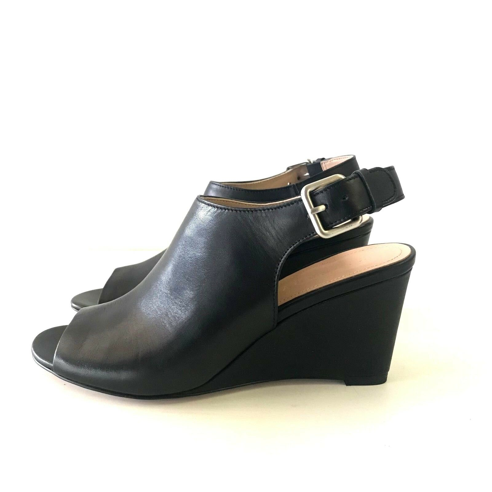 [COUNTRY ROAD] SZ 38,39 [CR LOVE] trenery eleanor wedge - black 7,8