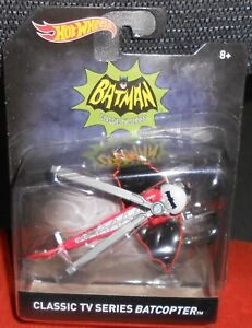 Hot Wheels Batman Classic TV Series Batcopter Helicopter