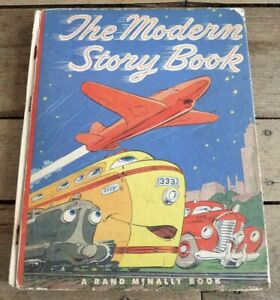Vintage-Hard-Cover-Book-The-Modern-Story-Book-Rand-McNally