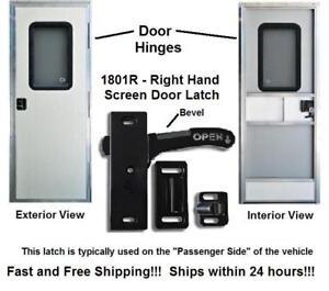 Right Hand Rv Screen Door Latch Handle E285 Camper Motorhome