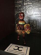 Vintage Pango Pango Black African Dancer Tin Windup Toy Japan Black Ameriana