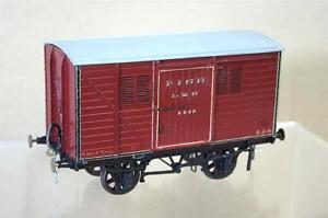 Slaters O Calibre Kit Construit Lms 6 Ton Poisson Van Wagon 6893 Superbe Mw