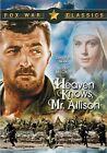 Heaven Knows Mr. Allison 0024543072096 With Robert Mitchum DVD Region 1