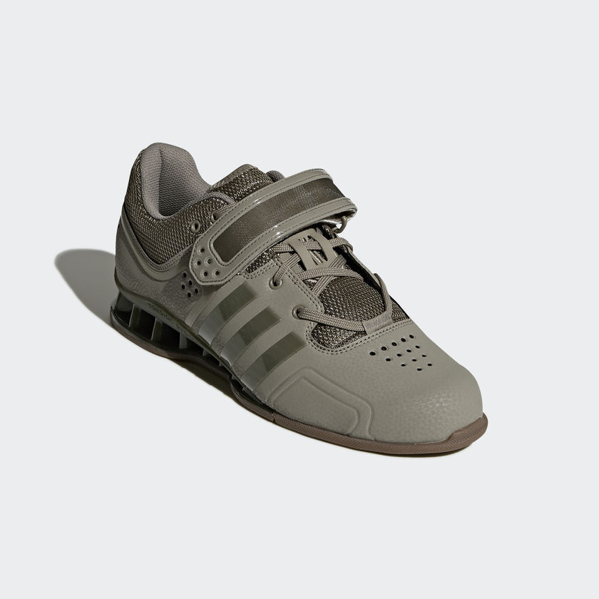 Adidas Adipower Weight Lifting shoes Mens Gym Trainers Cargo Green Weightlifting