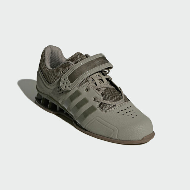 Adidas Adipower Weight Lifting Shoes Mens Gym Trainers Cargo Green  Weightlifting 1cba81c108
