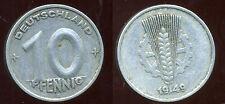 ALLEMAGNE  DDR  10 pfennig 1949  A