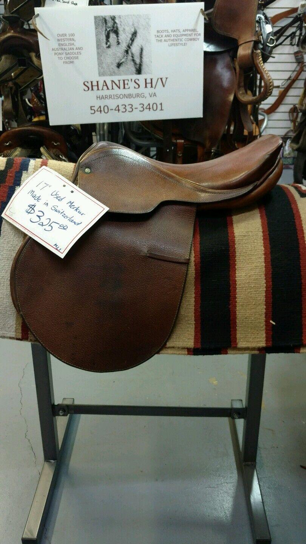 16 1 2  17  Merker Fals Bach English Saddle Close Contact