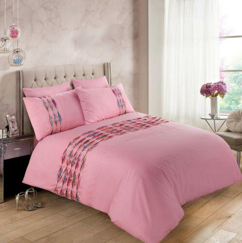 Bedding Hannah Set Duvet Cover, White Super King Size Bedding Set