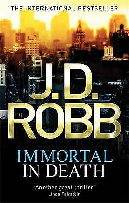 1 of 1 - Immortal in Death. J.D. Robb-ExLibrary