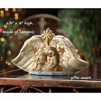 Color Changing Religious Jesus Nativity Led Christmas Statue Night Light Lamp