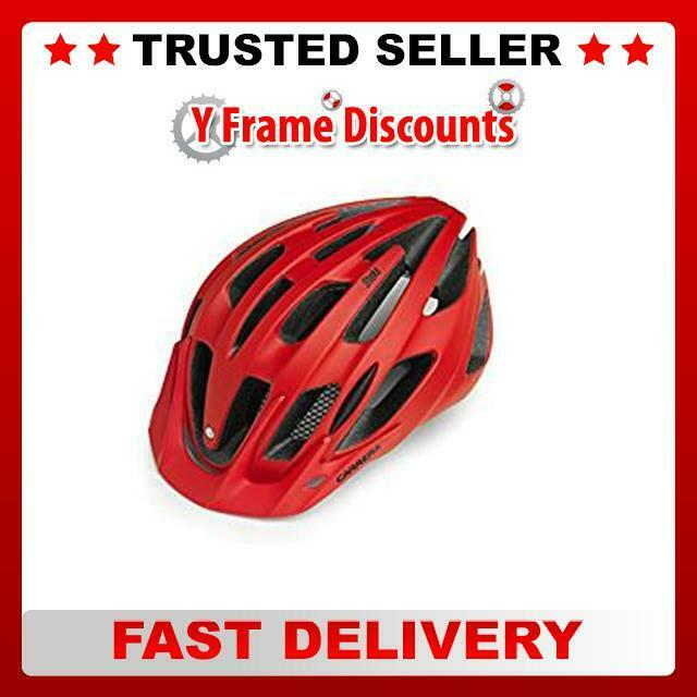 Carrera Shake 2.13 Mountain Bike Helmet - Red Matte, 58 - 62 cm