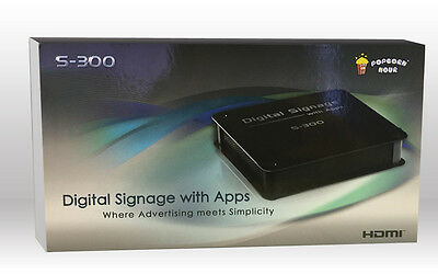 Popcorn Hour S-300 HD Digital Signage Player: Simple Advertising Solution