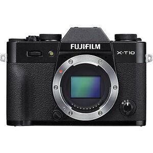 Fotocamera-Digitale-Fuji-Fujifilm-X-T10-corpo-body-black-NUOVA-Garanzia-Italia