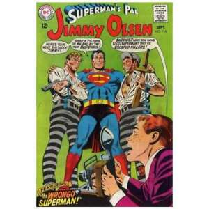 Superman-039-s-Pal-Jimmy-Olsen-1954-series-114-in-VF-minus-cond-DC-comics-cu