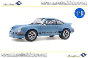 Porsche 911 Rsr 2.8 Gulf Bleu 1974 Solido - So 1801101 Echelle 1/18