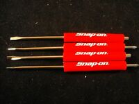 Snap On Tools Flat Tip-2 Phillips End 2 Magnetic End- Pocket Screwdriver Set