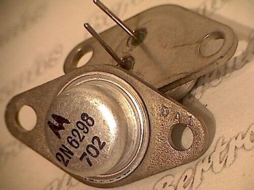 transistor  orig you get 2 pcs. 5961-01-188-2593 2pcs 2N6298 Mot  TO-66