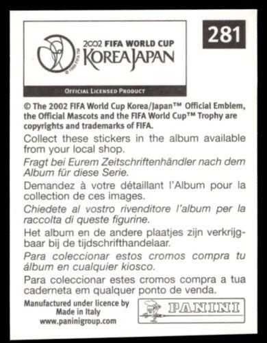 281 Panini World Cup Korea//Japan 2002 Gregg Berhalter USA No