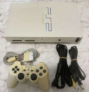 Sony Playstation 2 PS2 White Console SCPH-55000 w/Controller Working