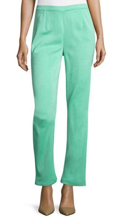 Ming Wang SES Seas Knit Basic Cut Pants S