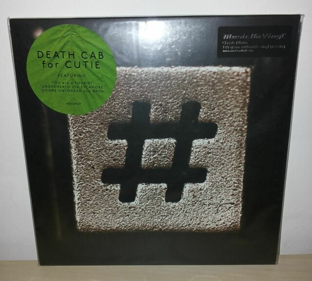 DEATH CAB FOR CUTIE - CODES AND KEYS - MOV - MUSIC ON VINYL - 2 LP