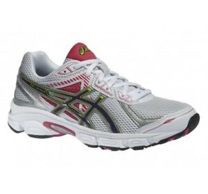 ebed7ba0660c ASICS GEL IKAIA 5 WOMENS RUNNING TRAINERS - WHITE-PURPLE-PINK ...