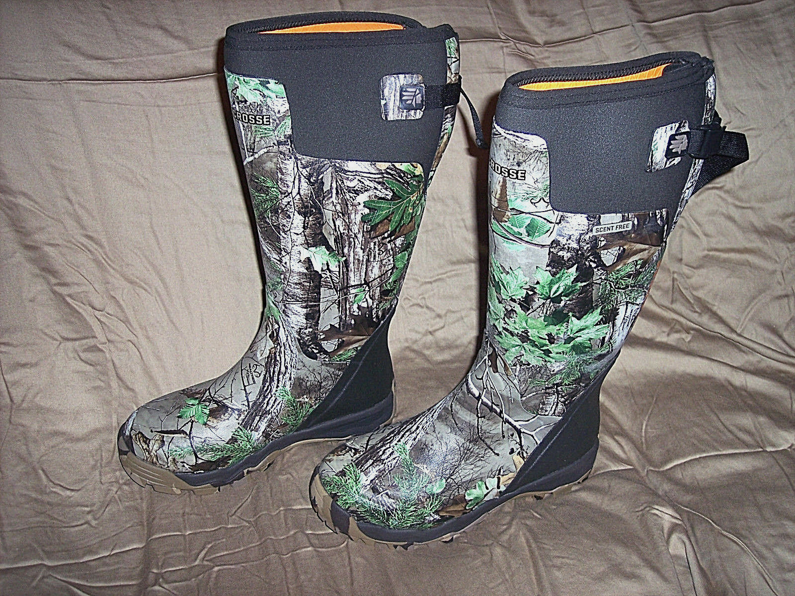 LaCrosse Pro Stiefel Camo Hunting Stiefel Scent Free Waterproof Herren Sz 8 Camo Stiefel