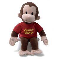 Gund 16 Curious George Plush Figure, Monkey Toy Doll Stuffed Animal Kid Child on sale