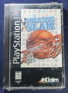 College Slam Playstation 1 Video Game in Longbox - PS1 - Sony - NEW/SEALED
