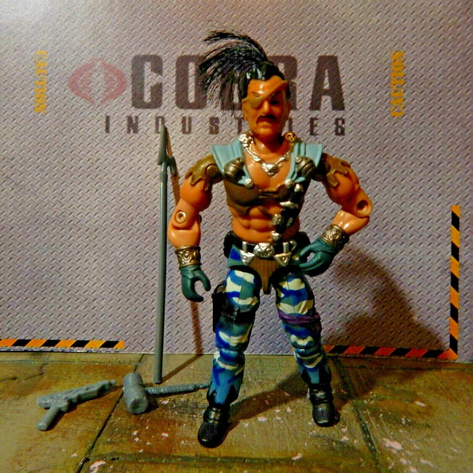 GI JOE  2004 ZANZIBAR DREADNOK DRIVER  PIRATE  JOECON CONVENTION