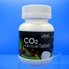 ISTA CO2 Tablet 100pcs 2 hours dissolve for aquarium water plants moss fish tank