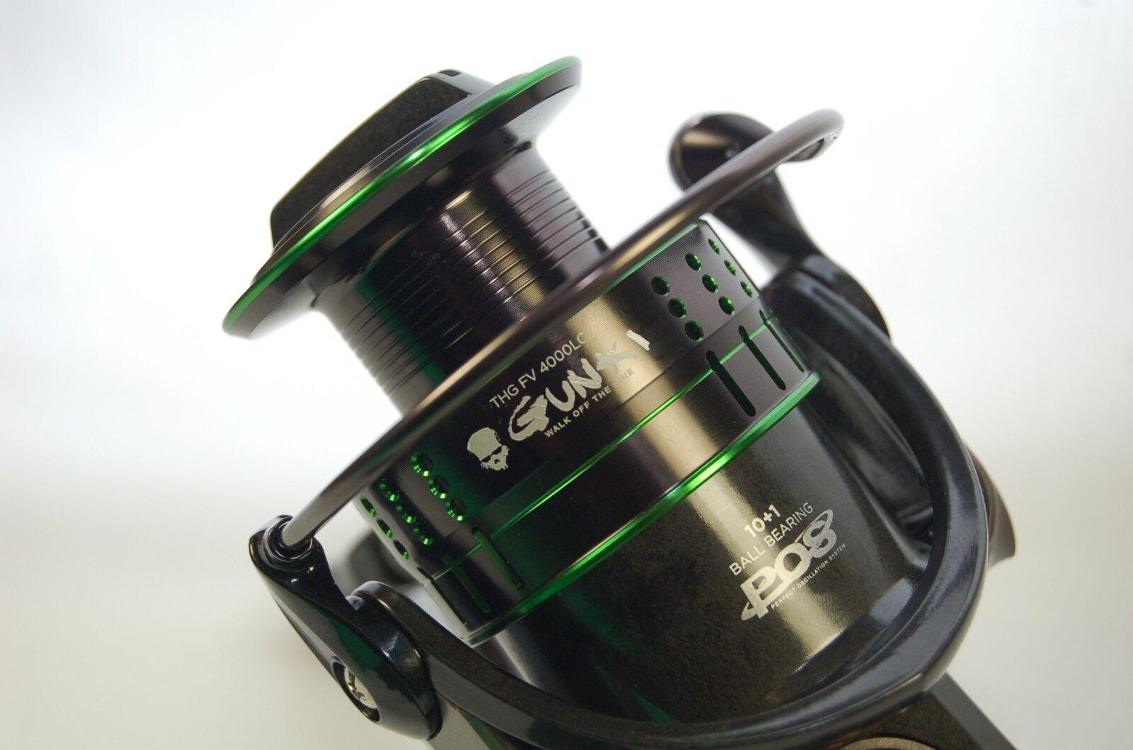 Gunki THG FV 4000LC Angelrolle Stationärrolle Spinnrolle Spinnfischen Kopfbremse